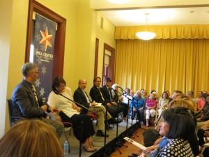 Panel: Joe Yonan, Bonnie Benwick, Daniel Zwerdling, Tim Carman, Tom Sietsema, Phyllis Richman