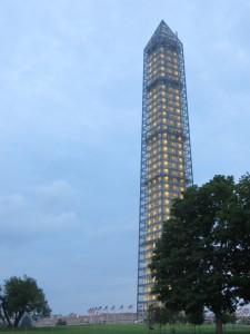 Washington Monument, Lit