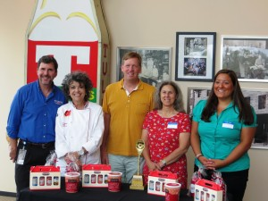 Phil Tulkoff and the Judges: Chef Linda, Chef Spike, The Spoon, Me, Chef Jill