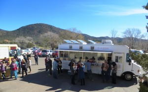 Food Trucks And Mountains