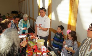 Chef Juan Has Helpers For The Mate Tasting