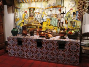 One Of The Kitchens In The Exhibit