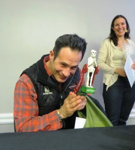 Dogfish Head Honcho Sam Calagione and Friend