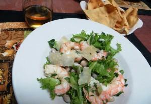 Shrimp and Barlotti Bean Salad