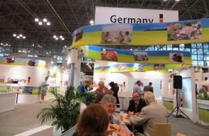 Part of the German Pavilion
