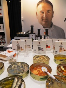 Jose Looms Over His Products