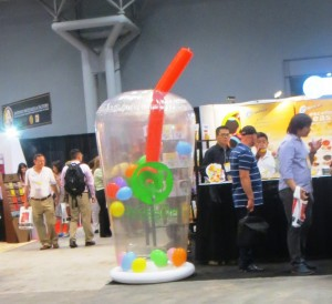 Attack of The Giant Bubble Tea
