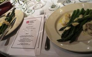 Asparagus and Menu