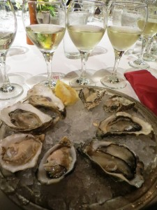 Still Life With Wine and Oysters