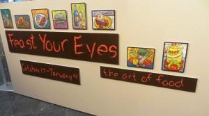 The Exhibit Sign