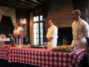 Ellen, Chef Todd, Sous Chef Darnell