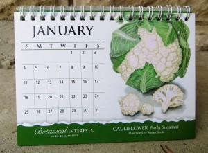 Cauliflower For January