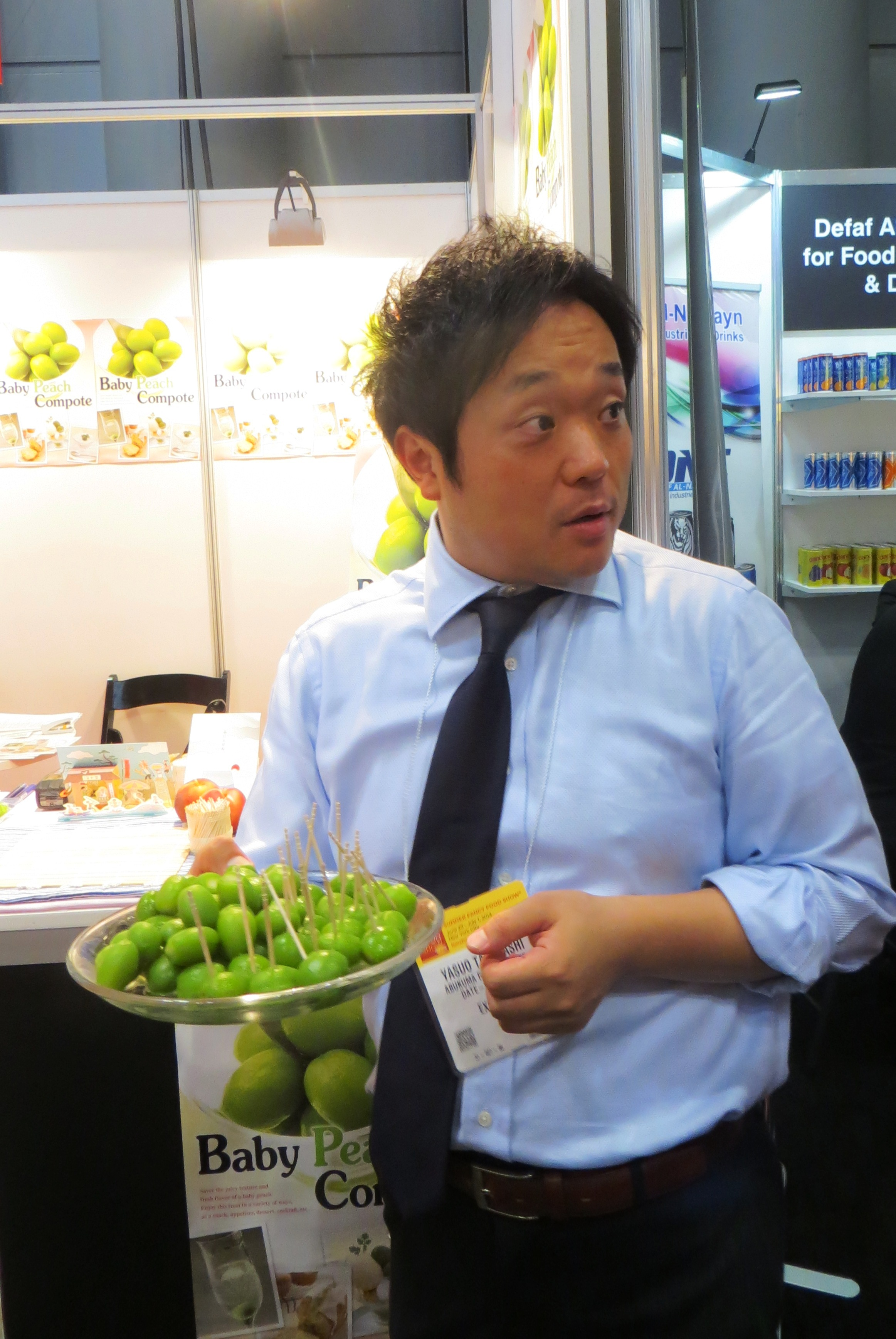 Back Up to New York City The 2014 Fancy Food Show Part 1 World