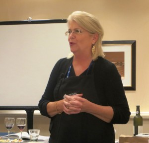 Sara Hill Guided the Tasting