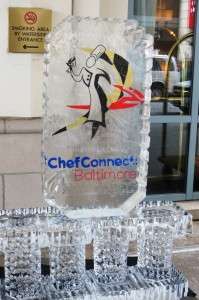 Ice Sculpture Sign