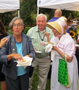 State Senator Karen and Harry Montgomery With Sandy