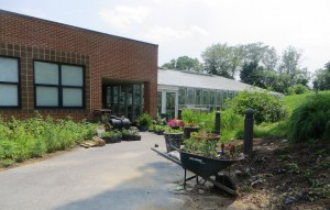 Classroom Building and Greenhouse