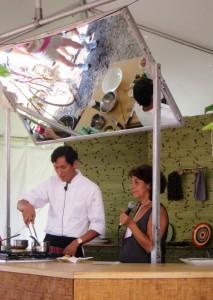 Chef Jose and Interpreter
