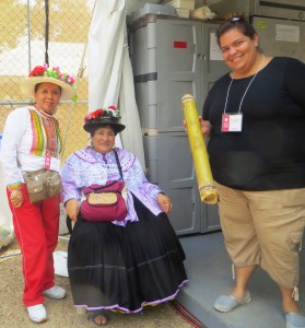 Dancer/Cooks and Rosa Maria
