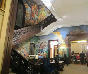 Murals In The Hall