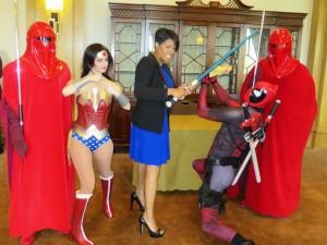 The Mayor As Superhero