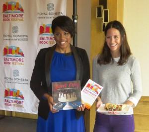 Mayor Rawlings-Blake and Author Rossini