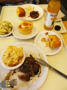 Indulgent Lunch