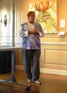 Susan Callahan in Her Jacket