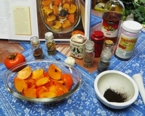 Spices For Pickled Persimmons