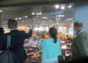 Exhibit Floor View