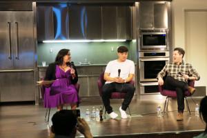 Panel: Maria, Deuki, Matt
