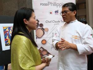 Philippines Chef Claude Tayag
