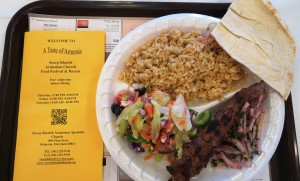Beef Shish Kebob Plate