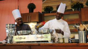 Chef Lloyd Titus Cooks