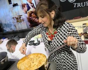 Francine Segan Stirs Pasta