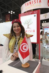 Tunisian Native Dress on the Exhibit Floor