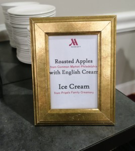 Ice Cream Dessert Menu