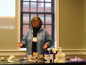 Marie Mayor and Lavender Products