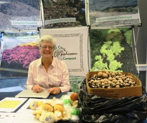 Lisa van Houten Sells Mushroom Compost